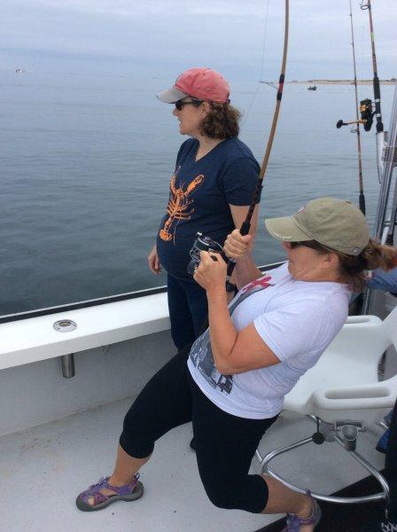 Summer striper fishing provincetown ginny g cape cod for Striper fishing cape cod